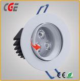 As lâmpadas de LED no LED acende o LED de 6 polegadas para baixo com luzes LED Driver Integrado baixar as luzes de Spot LED Office Use 18W/24W
