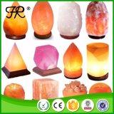 Lumière de l'Himalaya normale colorée de nuit de lampe de sel