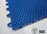Assoalho decorativo dos PP Skidproof do plástico