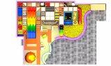 Tipo del patio y patio de interior del material de Acciaio E Plastica