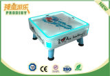 Portable 4 Jugadores Mini Air Hockey mesa para la diversión de interior