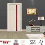 Modernes Haus-Entwurfs-hölzernes Furnier-Blattmelamin geformte Tür (GSP13-006)