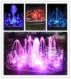 fontaine d'eau extérieure de jardin de musique de 2m