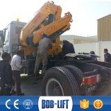 折るブームの人の上昇の油圧トラッククレーン