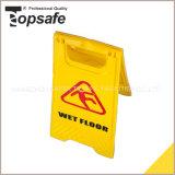 Conseil de mise en garde en plastique jaune / Conseil de mise en garde d'avertissement (S-1631)