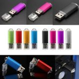 Factory Direct Sales U Disk Stick Pen USB Flash Drive Pendrive Couleur vive 128 Mo-128 Go