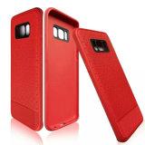 Teléfono celular caso cubierta de goma de teléfono móvil Samsung S8 Plus