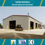 Structure métallique de coût bas pour l'entrepôt de Chine
