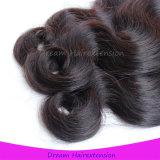 Karosserien-Wellen-Menschenhaar-Extensions-unverarbeitetes Großhandelsjungfraumalaysian-Haar
