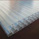 Hoja plástica del panal de Multicell del policarbonato para el invernadero