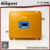 金の方法シグナルのアンプの高品質のホーム2g 3Gのシグナルの中継器のためのデュアルバンドのホームシグナルのブスター