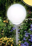 30 [كم] كرة أرضيّة زجاجيّة شمسيّة حديقة مصباح