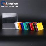Neuf feuille d'acrylique de couleur de type