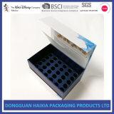 Vente en gros de empaquetage de boîte-cadeau de carton cosmétique estampée par écran