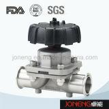 Нержавеющая сталь Санитарная Руководство Тип мембранный клапан с дренажным (JN-DV1002)