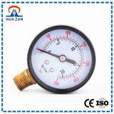 Teste aberto do manómetro da pressão absoluta da câmara de ar do diferencial