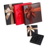 Caisse d'emballage de cadeau de papier fabriqué à la main de mode pour le chocolat avec la proue