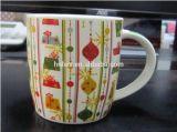 Tazza di ceramica calda di vendita 350ml 12oz con la richiesta del cliente