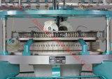 Kundenspezifische einzelne Jersey-Textilgewebe-KreisHochgeschwindigkeitsstrickmaschine