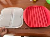 Soem-FDA-gebilligtes Mikrowellen-Grill-Wanne BBQ-Plastiktellersegment