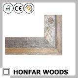 Frame de retrato de madeira personalizado do estilo rústico que molda para o presente