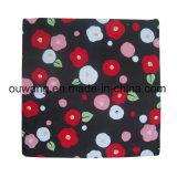 Bandana impreso insignia de encargo del pañuelo de la boda del diseño de la flor
