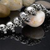 Braceletes da jóia dos homens quentes do bracelete do crânio do aço inoxidável (BL2822)