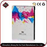 La cartulina de encargo de la impresión colorida engancha el rectángulo de regalo para los productos electrónicos