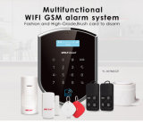 Wolf-wacht GSM+WiFi GSM van het Systeem van het Alarm van de Veiligheid van het Huis & van het Systeem van het Alarm met APP door IP die met 2g /3G Netwerk wordt gebaseerd