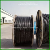 Стальная проволока бронированные XLPE кабеля с ПВХ изоляцией провода кабеля
