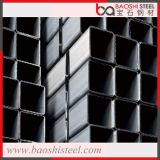 Tube et tuyau carré noir en acier doux