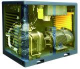 Alto compresor de aire de dos etapas ahorro de energía eficiente del tornillo