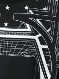 Тенниска изготовленный на заказ женщин вскользь с геометрической конструкцией