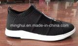 Le Knit neuf de mouche chausse des chaussures d'espadrilles de chaussures de course de sports d'hommes