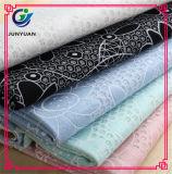 100% poliéster tecido de tecido têxtil transparente China