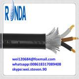 câble électrique de cuivre à un noyau isolé par XLPE souterrain de 8.7KV 15KV