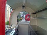 Chariot à poussière en fibre de verre Chariot à provisions Panier commercial à hot dog