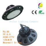 Luz industrial de la bahía del UFO LED de la vida útil de China del surtidor de la iluminación larga 250W del almacén alta