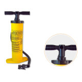 Couleur jaune Inflater Air de la pompe manuelle avec 2 fonction (gonflé ou dégonflé)