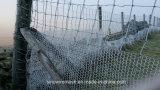 Плетение загородки мелкоячеистой сетки Sailin