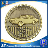 L'ottone dell'OEM ha timbrato la moneta di sfida del metallo per i regali del ricordo