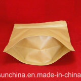 Sacchetto impaccante del tè di plastica di stampa con la chiusura lampo