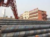 O PE revestiu a tubulação de aço soldada espiral