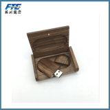 Kundenspezifischer Bambus/hölzerner USB-Stock umweltfreundliches USB-Blitz-Laufwerk