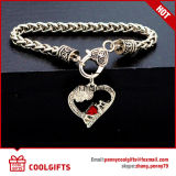 Nuovo braccialetto della lega del cuore del diamante delle signore del regalo di cerimonia nuziale di disegno