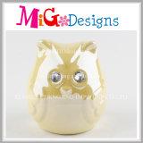 Caixa de cerâmica cerâmica de coruja colorido para crianças