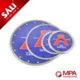 Sali de herramientas de corte 125 mm Turbo Rim Diamand Hoja de sierra circular
