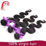 El tejer brasileño del pelo de Remy de la Virgen sin procesar del pelo humano del 100%