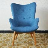 호화스러운 로비 Arne Jacobsen 실내 장식품 직물 계란 의자 (SP-HC389)