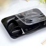 Коробка обеда PP черная устранимая японская пластичная